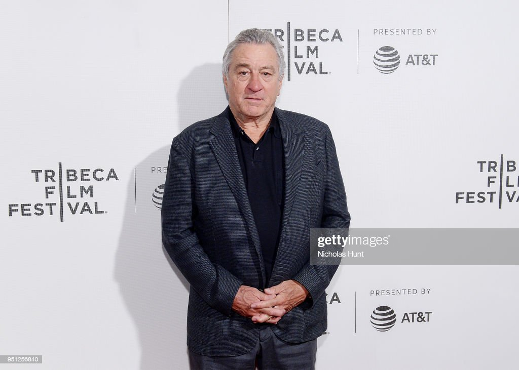 Robert De Niro attends the Screening of 'Woman Walks Ahead' - 2018 Tribeca Film Festival at BMCC Tribeca PAC on April 25, 2018 in New York City.