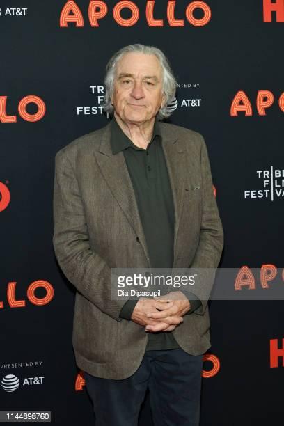 Robert De Niro attends the The Apollo screening during the 2019 Tribeca Film Festival at The Apollo Theater on April 24 2019 in New York City