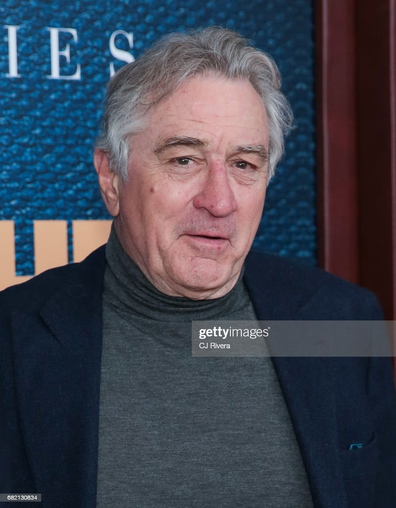 Robert De Niro attends 'The Wizard of Lies' New York Premiere at The Museum of Modern Art on May 11, 2017 in New York City.