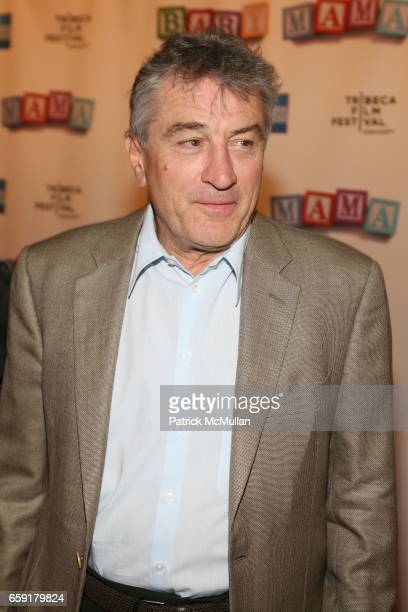 Robert De Niro attends Universal Pictures presents The World Premiere of Baby Mama at Ziegfeld Theatre on April 23 2008 in New York City