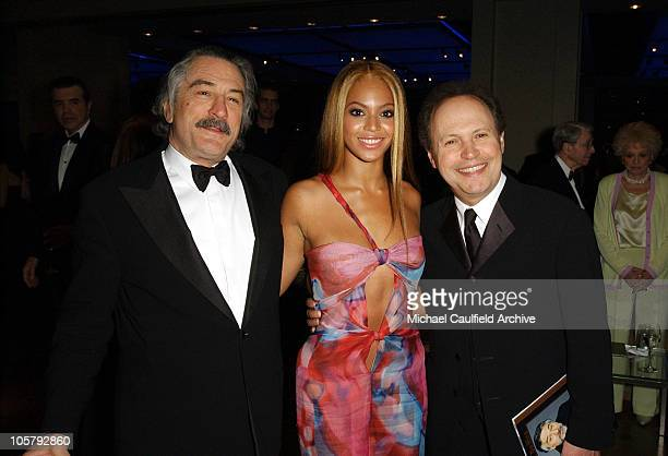 Robert De Niro Beyonce and Billy Crystal during 31st AFI Life Achievement Award Presented to Robert De Niro After Party in Hollywood California...