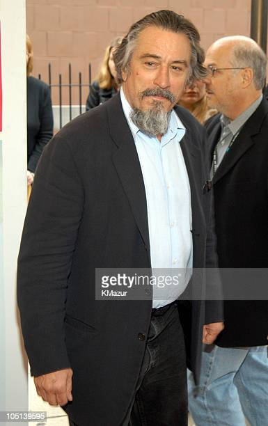 "Robert De Niro during 2003 Tribeca Film Festival - ""The Italian Job"" Premiere at Tribeca Performing Arts Center in New York City, New York, United..."