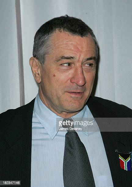 Robert De Niro during 3rd Annual Tribeca Film Festival - Cry The Beloved Country Premiere at Tribeca Performing Arts Center in New York City, New...