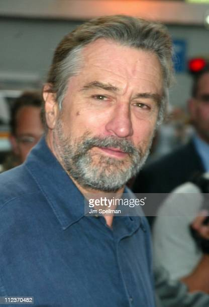 Robert De Niro during 'City By The Sea' Premiere New York at Union Square Theatre in New York City New York United States