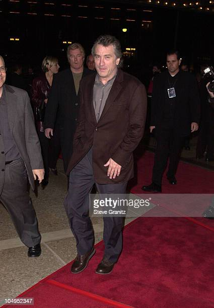 Robert De Niro during 'Fifteen Minutes' Century City Premiere at Loews Cineplex in Century City California United States