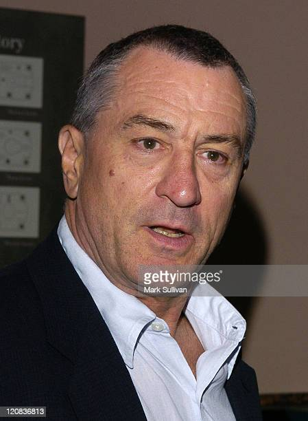 Robert De Niro during My Uncle Berns HBO Documentary Los Angeles Premiere at Museum of Tolerance in Los Angeles California United States