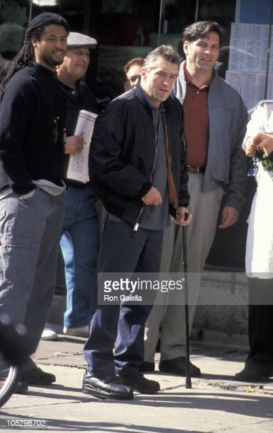 Robert De Niro during On The Set of 'Flawless' at 13th Street Avenue A in New York City New York United States