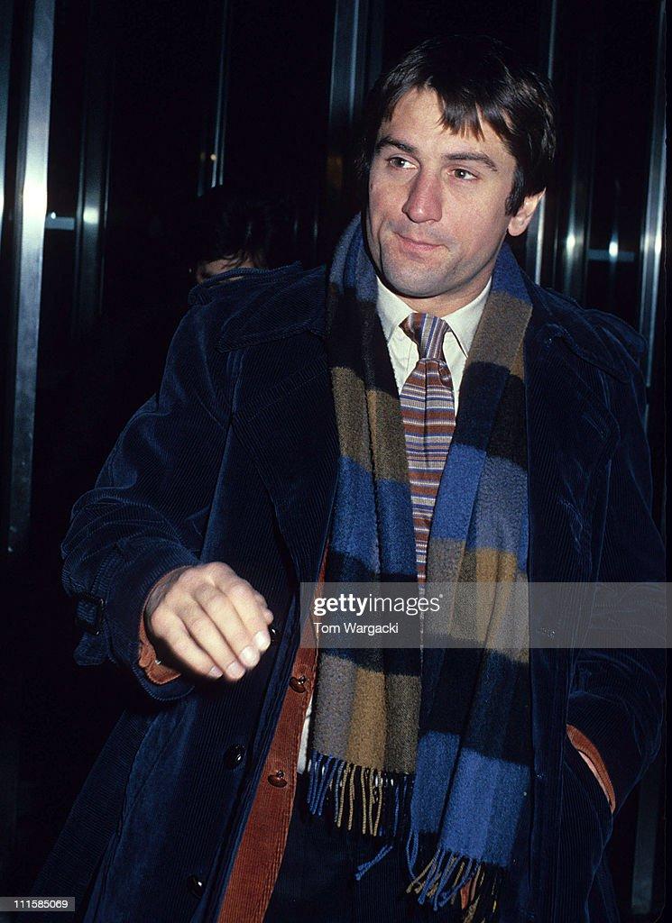 Robert DeNiro and Al Pacino Sighting in Manhattan : News Photo