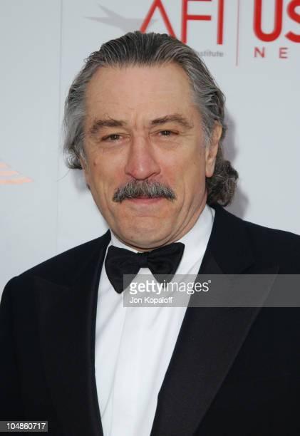 Robert De Niro during The 31st AFI Life Achievement Award Presented to Robert DeNiro at Kodak Theatre in Hollywood California United States