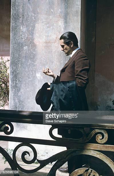 Robert De Niro during the filming of The Godfather Part II