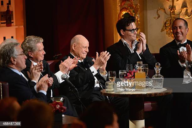 Robert De Niro Martin Scorsese Regis Philbin Johnny Depp and Jerry Seinfeld attend Spike TV's 'Don Rickles One Night Only' on May 6 2014 in New York...
