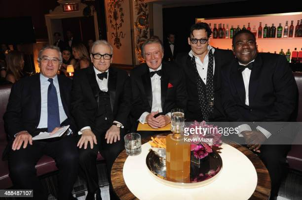 Robert De Niro Martin Scorsese Regis Philbin Johnny Depp and Tracy Morgan attend Spike TV's 'Don Rickles One Night Only' on May 6 2014 in New York...
