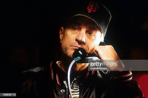 Robert De Niro on the phone in a scene from the film 'The Fan' 1996