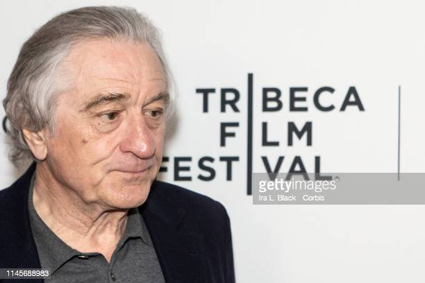 Robert De Niro on the red carpet for their Tribeca Talks - The Directors Series featuring Martin Scorsese and Robert De Niro as part of the Tribeca...