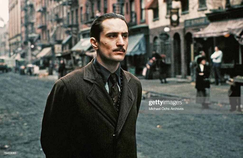 Robert De Niro in The Godfather Part II : News Photo