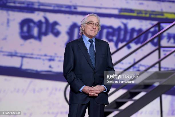 Robert De Niro speaks onstage during Full Frontal With Samantha Bee Not The White House Correspondents Dinner on April 26 2019 in Washington DC 558302