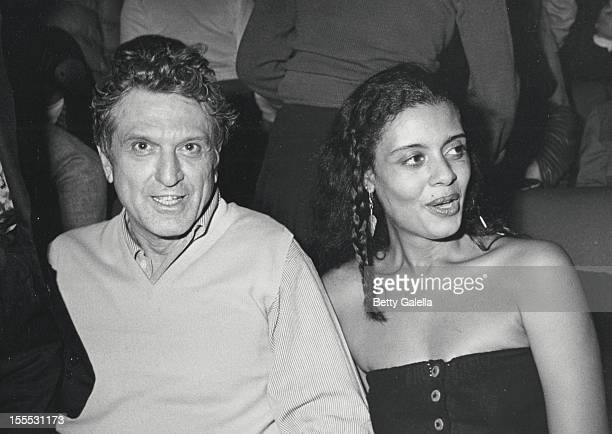 Robert De Niro Sr. And Diahnne Abbott attend the screening of Raging Bull on November 13, 1980 at the Sutton Theater in New York City.