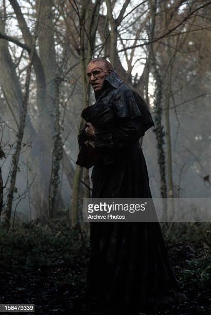 Robert De Niro walking in forest in a scene from the film 'Frankenstein' 1994