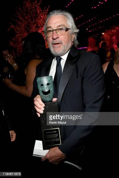 Robert De Niro winner of the Screen Actors Guild Life Achievement Award attends PEOPLE's Annual Screen Actors Guild Awards Gala at The Shrine...