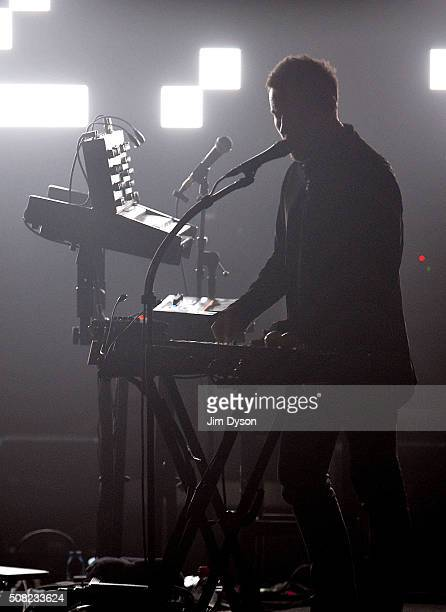 Robert Del Naja, aka 3D, of Massive Attack performs live on stage at at O2 Academy Brixton on February 3, 2016 in London, England.