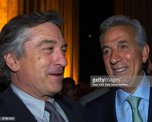 Robert DeNiro and Charles Gargano at the Vanity Fair Party held at The Stae Supreme Courthouse celebrating the 2005 Tribeca Film Festival