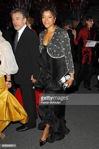 Robert DeNiro and Grace Hightower attend AMERICAN BALLET THEATRE 67th Annual Spring Gala at Metropolitan Opera House on May 14 2007 in New York City