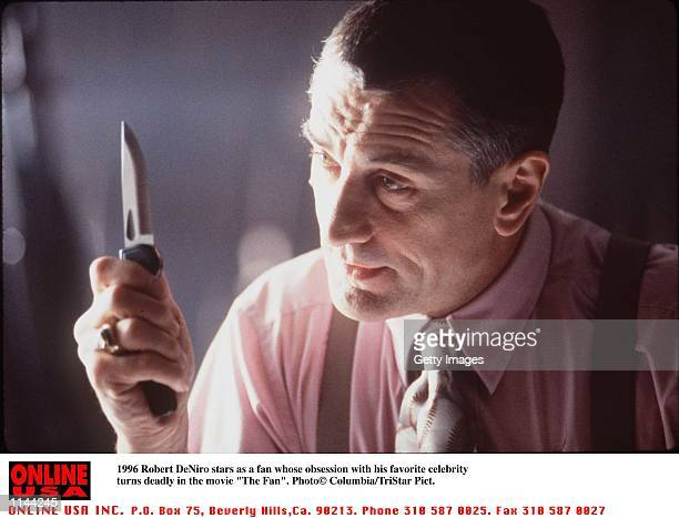 Robert DeNiro Stars as a fan whose obsession with his favority celebrity turns deadly'