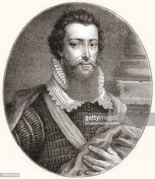 Robert Devereux 2nd Earl of Essex 15651601 English nobleman and a favourite of Elizabeth I From The Century Edition of Cassell's History of England...