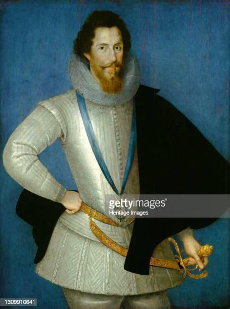Robert Devereux, 2nd Earl of Essex, 1596/1601. Artist Studio of Marcus Gheeraerts the Younger. .