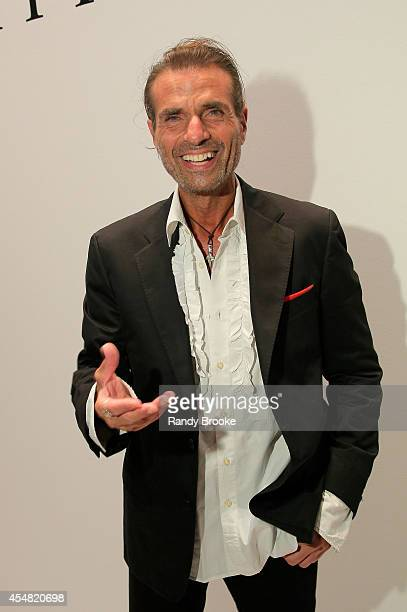 Robert Di Mauro attends the Academy Of Art University Spring 2015 Collections during MercedesBenz Fashion Week Spring 2015 at The Theatre at Lincoln...