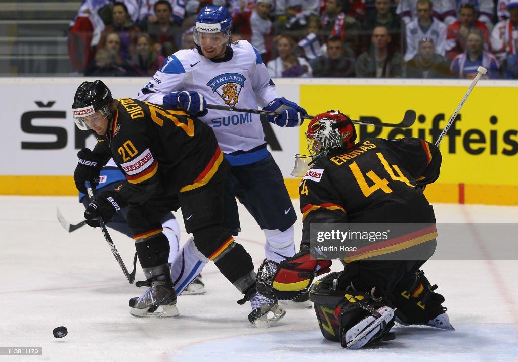 Germany v Finland - 2011 IIHF World Championship