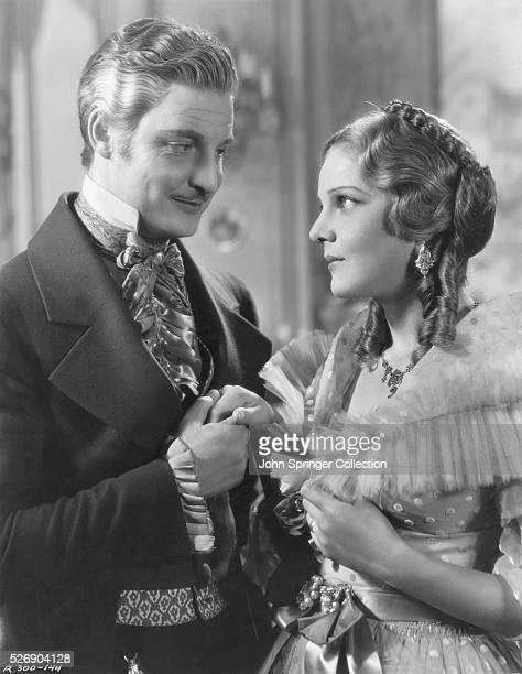 Robert Donat and Elissa Landi in The Count of Monte Cristo