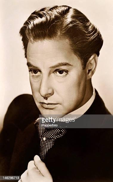 Robert Donat British actor circa 1930