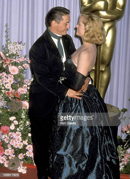 Robert Downey Jr and Cybill Shepherd during 61st Annual Academy Awards Arrivals at Shrine Auditorium in Los Angeles California United States