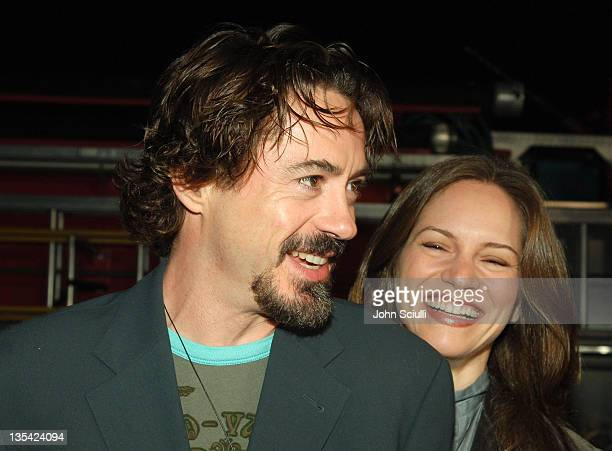 """Robert Downey Jr. And Susan Downey during Smashbox Cosmetics Hosts First Annual Toy Drive """"Babes in Toyland"""" at Smashbox Studios in Los Angeles,..."""