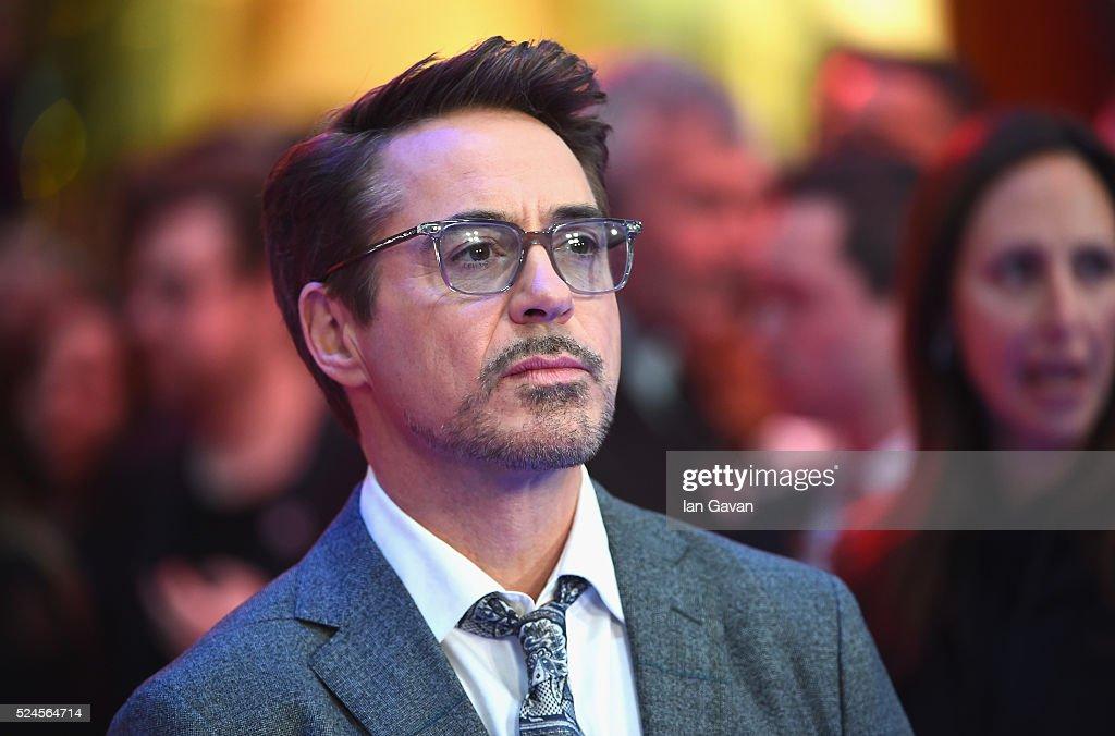 """""""Captain America: Civil War"""" - UK Film Premiere - Arrivals : News Photo"""
