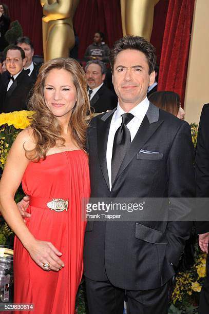 Robert Downey Jr arrives with Susan Downey at the 81st Academy Awards�� held at the Kodak Theatre