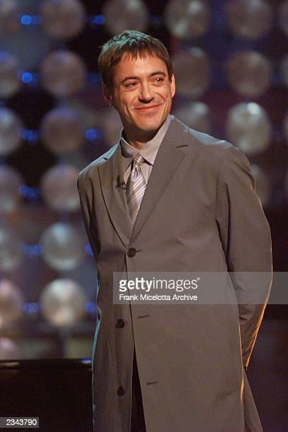 Robert Downey Jr at the 2001 Radio Music Awards at the Aladdin Hotel in Las Vegas Friday Oct 26 2001 Photo by Frank Micelotta/ImageDirect