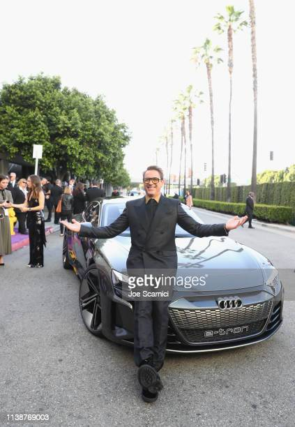 Robert Downey Jr attends Audi Arrives At The World Premiere Of Avengers Endgame on April 22 2019 in Hollywood California