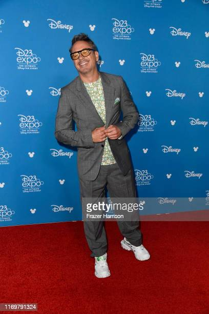 Robert Downey Jr attends D23 Disney Legends event at Anaheim Convention Center on August 23 2019 in Anaheim California