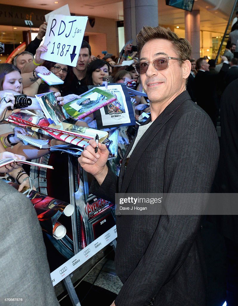 """The Avengers: Age Of Ultron"" - European Premiere - VIP Arrivals : News Photo"