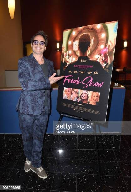 Robert Downey Jr attends the 'Freak Show' special screening on January 17 2018 in Los Angeles California