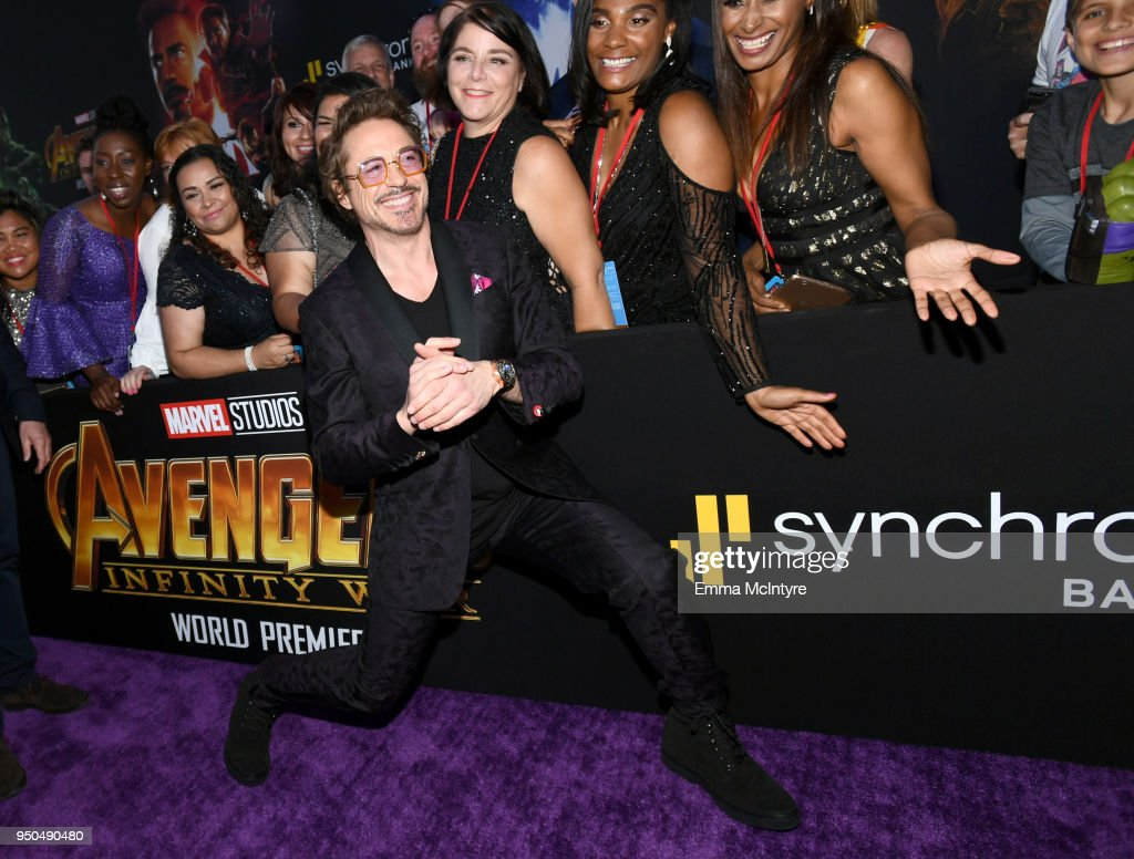 The World Premiere of Marvel Studios' 'Avengers: Infinity War'