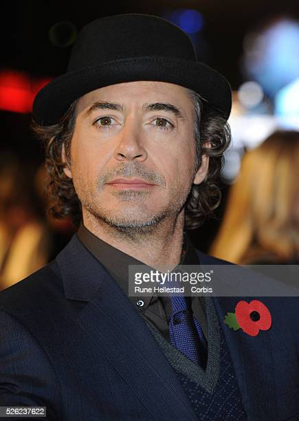 Robert Downey Jr attends the premiere of Due Date at Empire Leicester Square