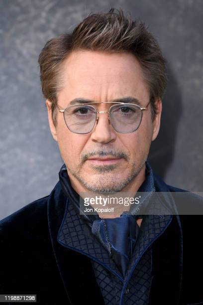 "Robert Downey Jr. Attends the Premiere of Universal Pictures' ""Dolittle"" at Regency Village Theatre on January 11, 2020 in Westwood, California."