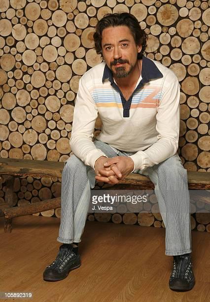 Robert Downey Jr during 2006 Sundance Film Festival 'A Guide to Recognizing Your Saints' Portraits at HP Portrait Studio in Park City Utah United...