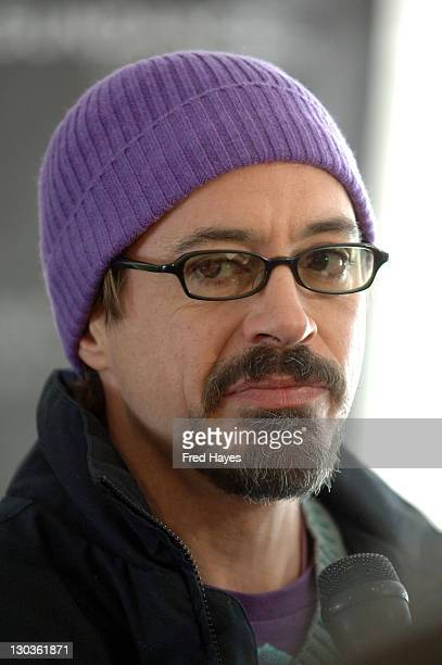 Robert Downey Jr during 2006 Sundance Film Festival 'A Guide To Recognizing Your Saints' Premiere at Racquet Club in Park City Utah United States