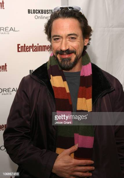 Robert Downey Jr during 2006 Sundance Film Festival Entertainment Weekly Sundance Opening Weekend Party Arrivals at The Shop in Park City Utah United...
