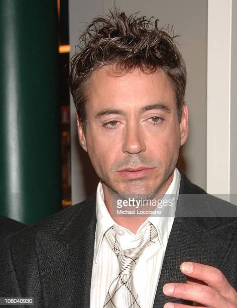 Robert Downey Jr during 'A Scanner Darkly' Special Premiere Screening Arrivals at Walter Reade Theater at Lincoln Center in New York City New York...