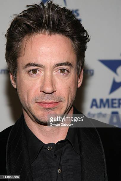 Robert Downey Jr during Americans For The Arts National Arts Awards 2006 Inside Arrivals and event at Cipriani 42nd Street in New York City New York...